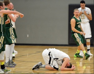 Buzzer Beater Finish- Boys' Basketball One Step Closer to Championship