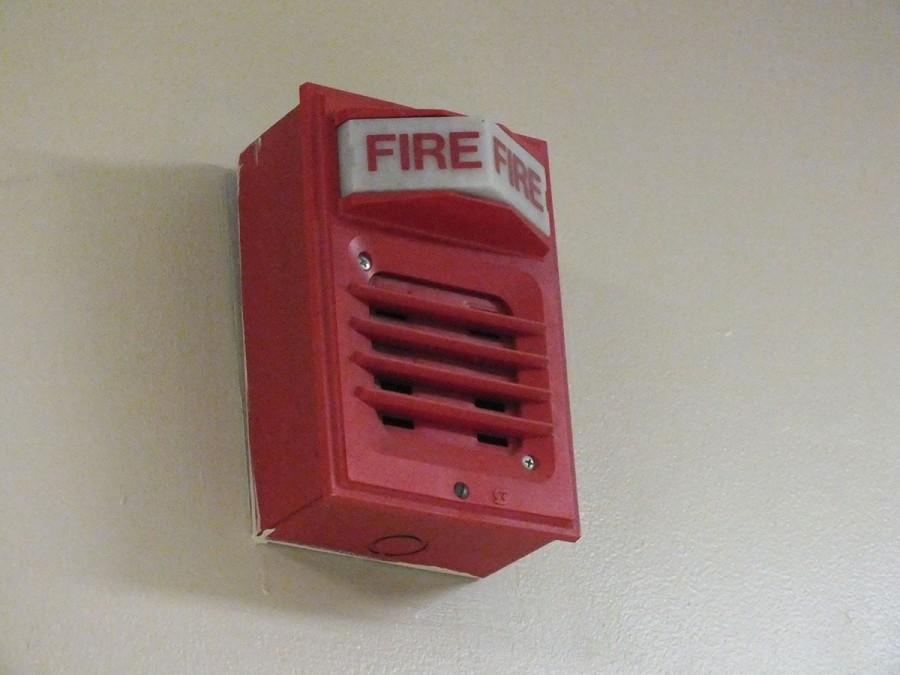 fog machine alarm