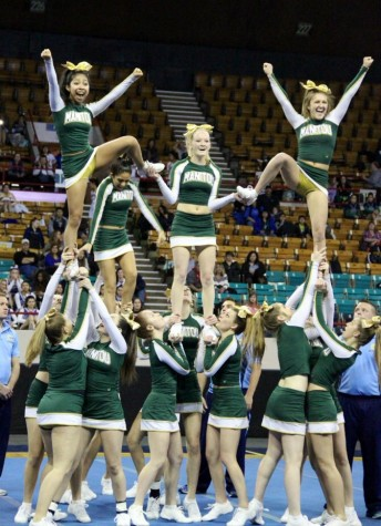 Cheerleading Places First at State (UPDATE: Watch video of winning routine)