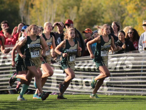 Girls' Cross Country Qualifies for State