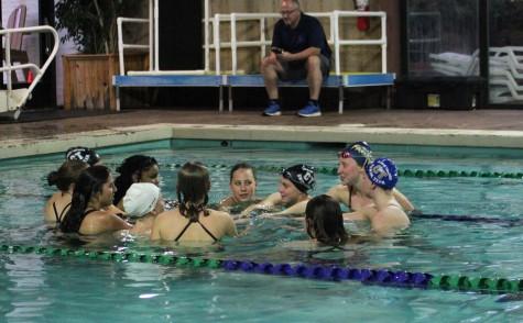 Girls' Swim Excels in Recent Meet