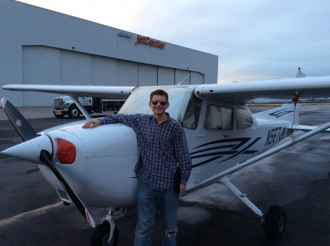 Kellen Reid, 16, on Target to Receive Pilot's License