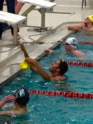 Senior Greg Shaw Breaks 37-Year-Old Swim Record