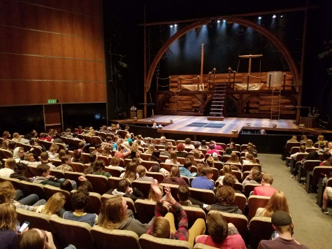 "Students Attend Fine Arts Center's ""Peter and the Starcatcher"""