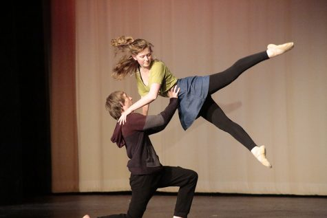 2016 Spring Dance Concert Finishes Production