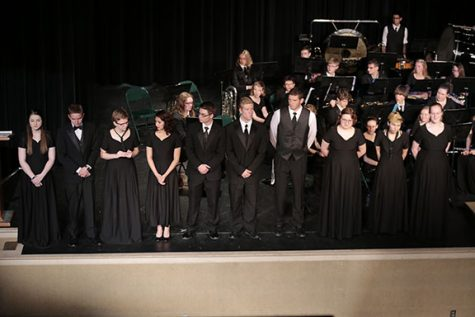 Band Performs Last Concert of Year