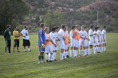 Boys' Soccer Wins First Home Game