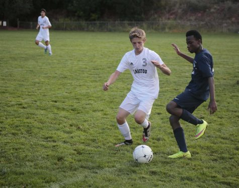 Boys Varsity Soccer Victorious in Rival Match