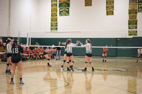 Mustang Volleyball: Manitou vs La Junta