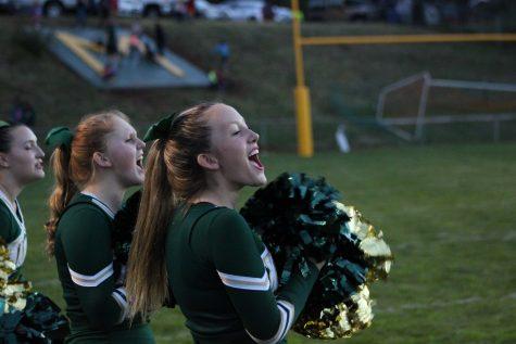 Ella Slater, Varsity Cheer Freshman, Talks Sport