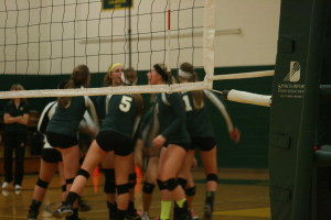 Volleyball sweeps their way to State