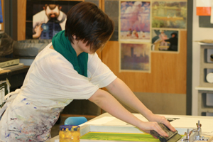Art students learn real-world applications for work