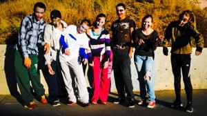The Running Dead: Student Zombies Give Chase