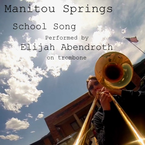 Elijah Abendroth plays the MSHS school song.