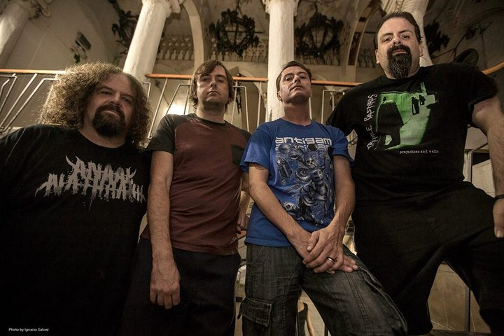 Napalm Death Members Shane Embury, Mark