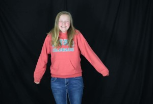 "Becca Heiniger (9) is the ""youngest of the oldest of the Heinigers"". She is the third of five Heiniger girls."