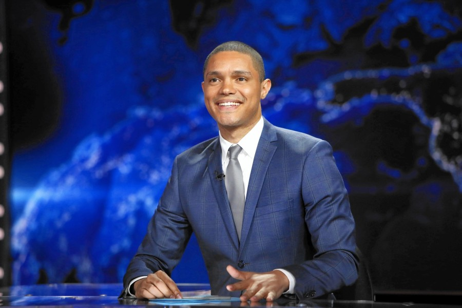 31 year old Trevor Noah is from Johannesburg, South Africa. He's also appeared on The Tonight Show with Jay Leno and the Late Show with David Letterman.