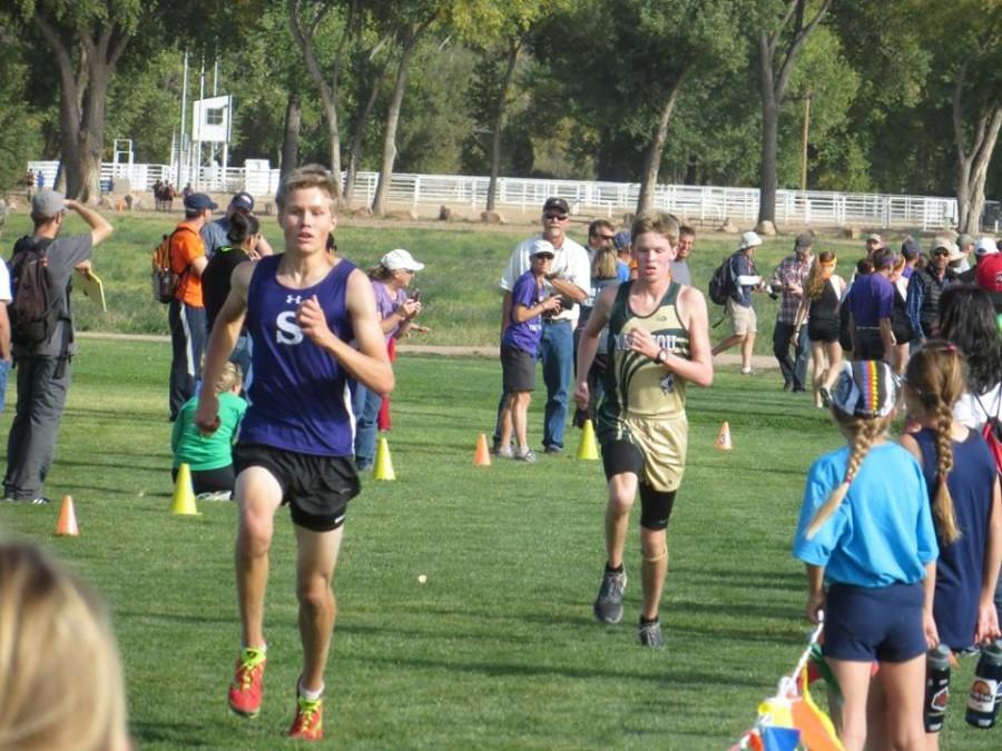 Shattering his own pr, Bryce Van Derveer became the first boys since Marcus Rodholm three years ago to break the 18-minute barrier.