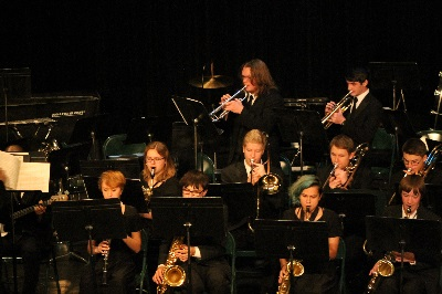Talented Band Students Play in Honor Band Concert