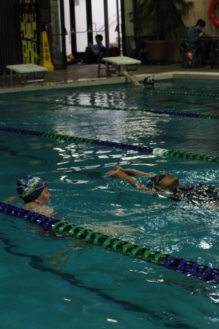 A competitive edge: the role club swimming plays in the high school season