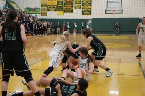 Girls' Basketball Beats St. Mary's in Rival Game