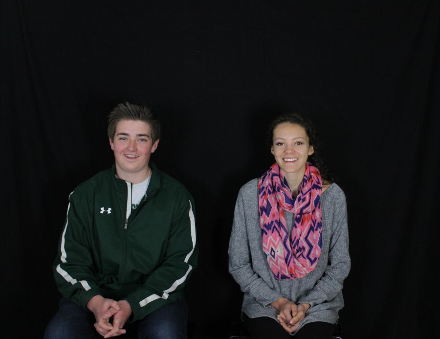 Henschel and Kosley are featured for March Mustangs of the Month.