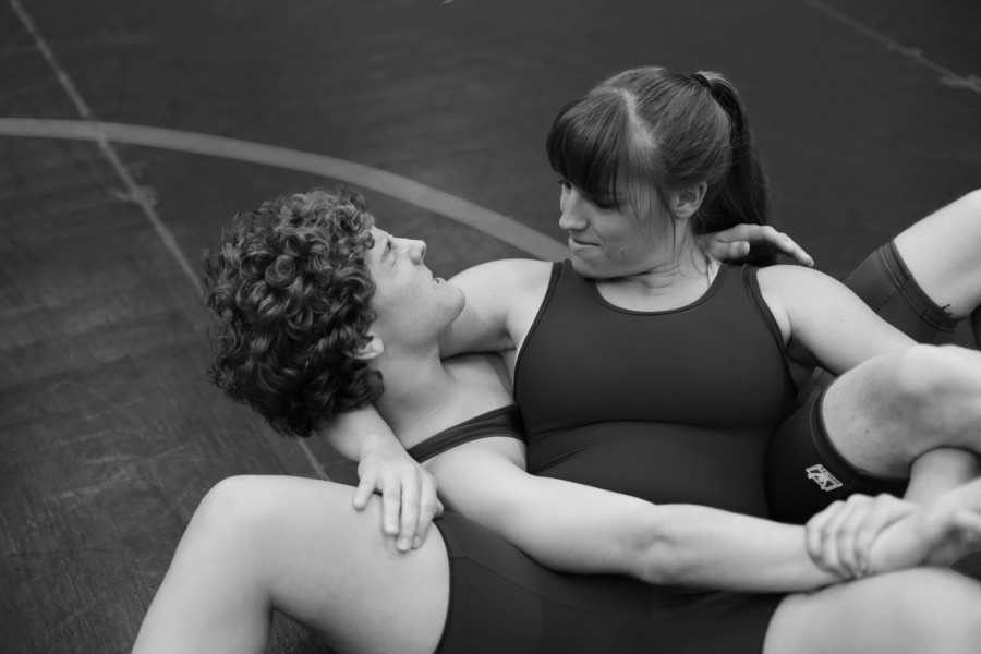 Cramer isn't in wrestling solely for the sport, she has made many friendships, like her maternal relationship with Noah Sobeck (10)