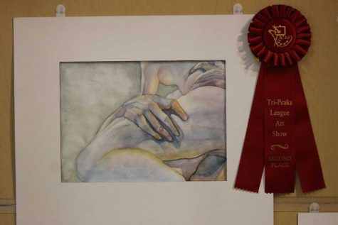 Manitou Students Place in Tri-Peaks League Art Show