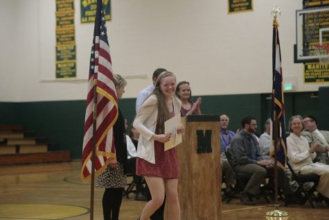 Annual Awards Night Honors Students, Introduces Valedictorians