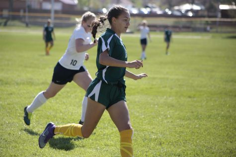 Girls' Soccer Win First Game
