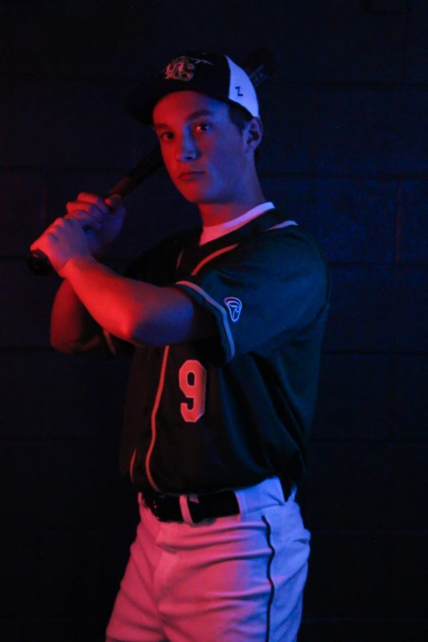 Senior Baseball Player James Baker Reflects on Legacy