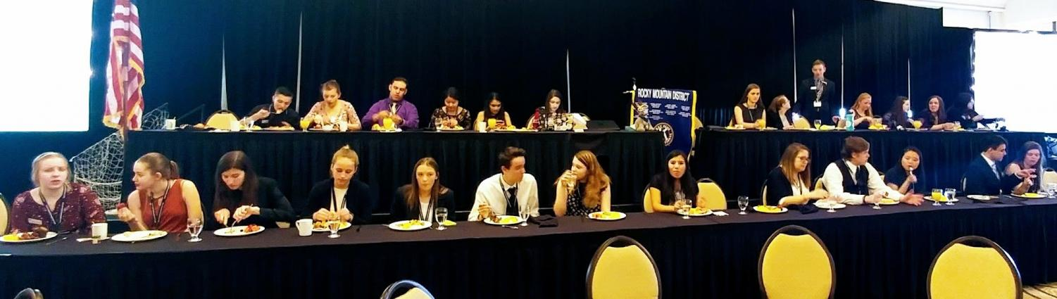 Key Club Members Go To District Convention – The Prospector