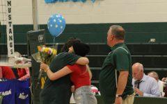 Emotional Senior Volleyball Night