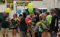 Emotional Senior Night for MSHS Girls' Volleyball Team