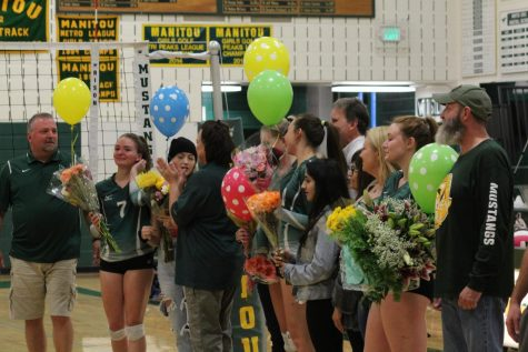 Emotional Senior Night for MSHS Girls' Volleyball Team