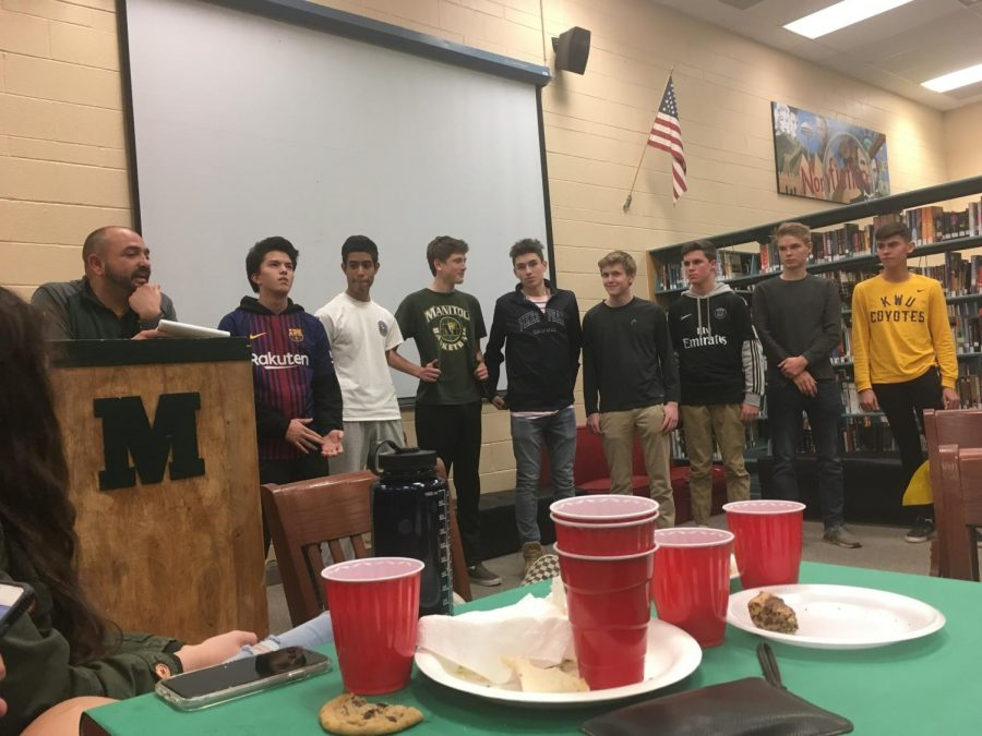 Boys' Soccer Ends the Season with Annual Banquet