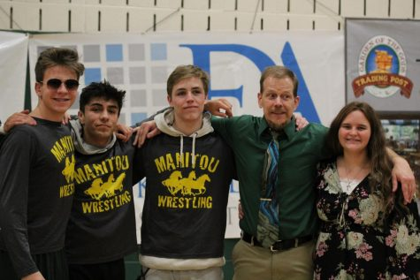 Wrestling Hosts Last Home Meet and Honors Seniors