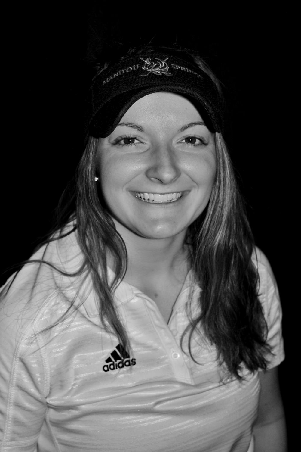 Chloe Unruh is a devoted senior golfer on MSHS's Girls' Team. This year she is leading the program with the theme of keeping a positive mindset.
