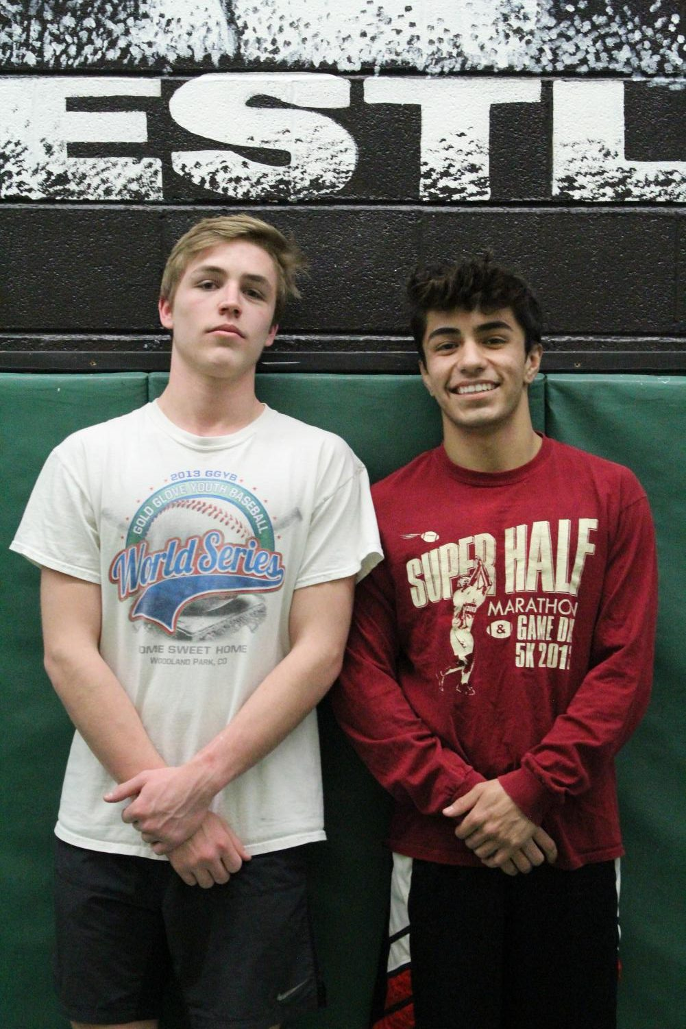 Byrd McCarley (12) and Ceasar Sanchez (12) are both shooting to make it to 2019 Wrestling State. They will have the Regionals meet to make that goal reality.