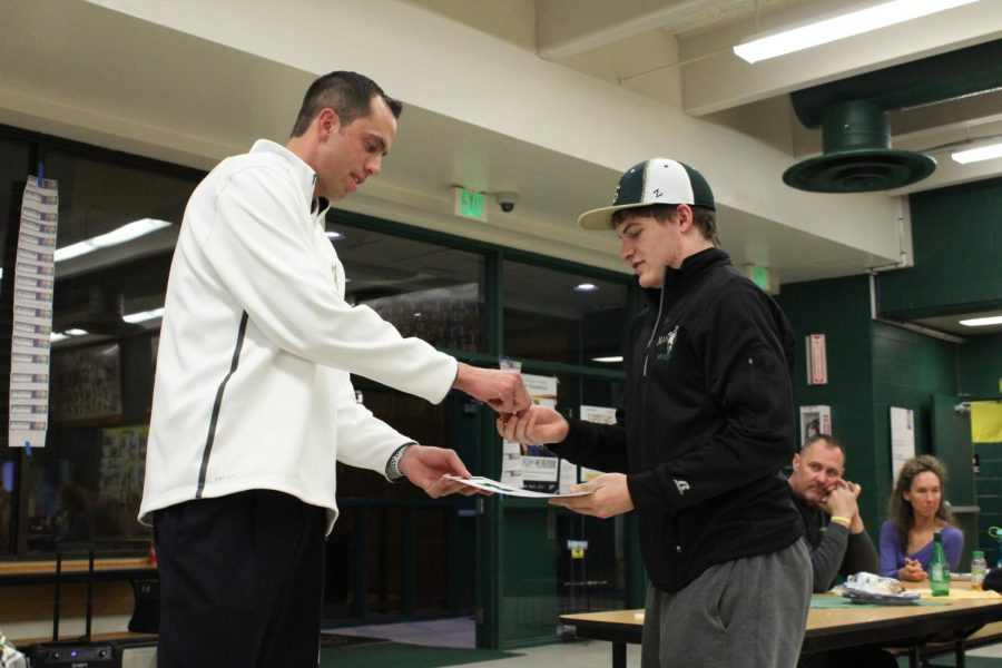 Boys' Basketball Wraps Up Season With Banquet