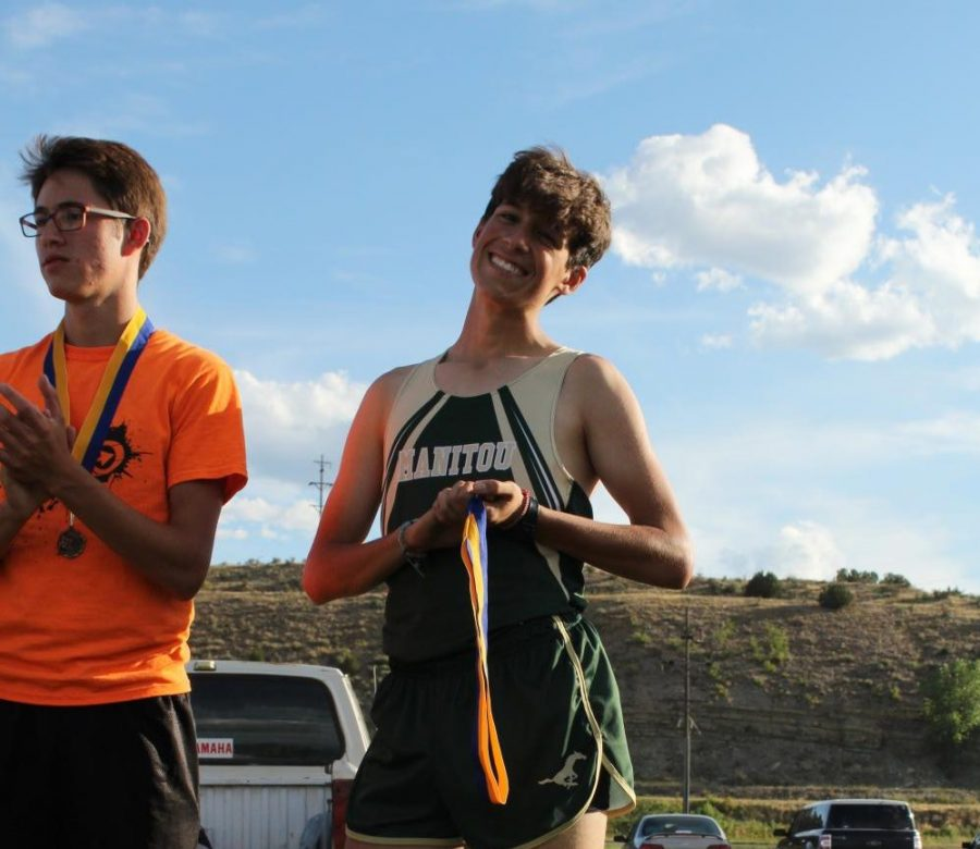 Henry Ilyasova to Represent Manitou Springs at State Cross Country Meet