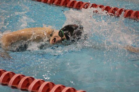 Manitou Girls' Swim Dominate at Hornet Invite