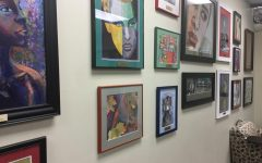 This captivating gallery is located in the Manitou Springs SILC school administration office.