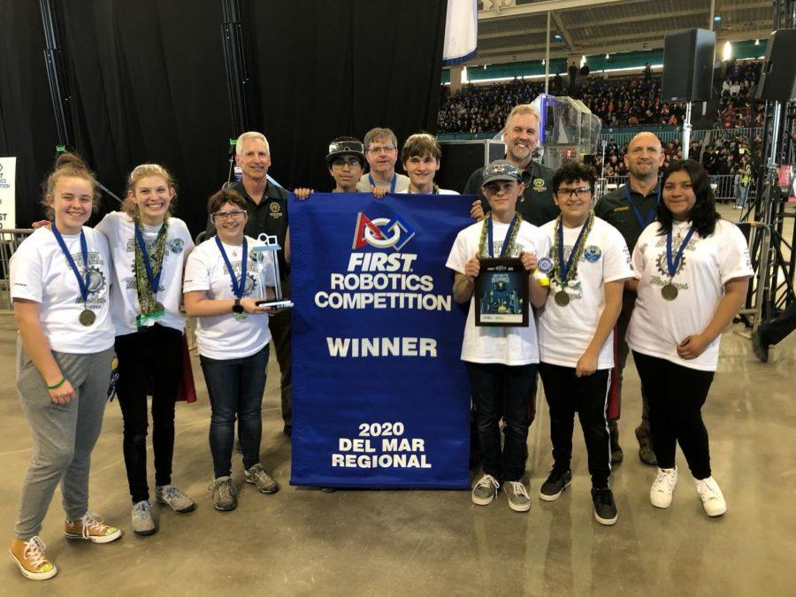 Steel Mustangs Robotics Win it All in California