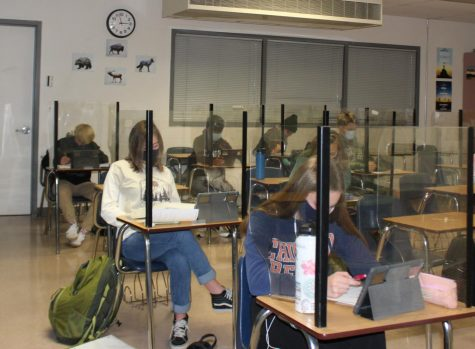 MSHS students experience the new reality of the classroom during the first weeks of school.