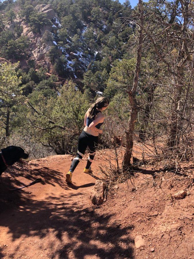 How senior Kiri McNerney found freedom in running