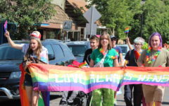 GSTA marches in the 2021 Homecoming parade on Manitou Avenue.